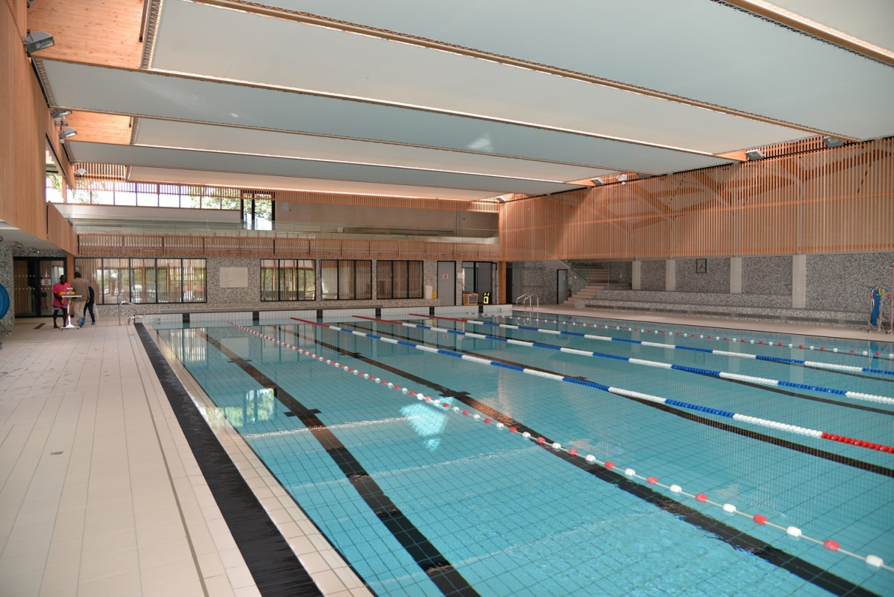 Bourgueil rouleau architectes piscine du bocage for Piscine du bocage