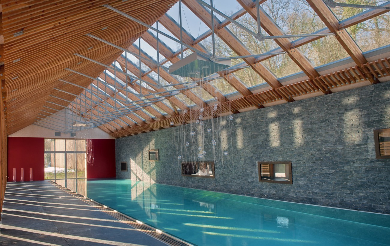 Bourgueil rouleau architectes piscine priv e for Piscine 37