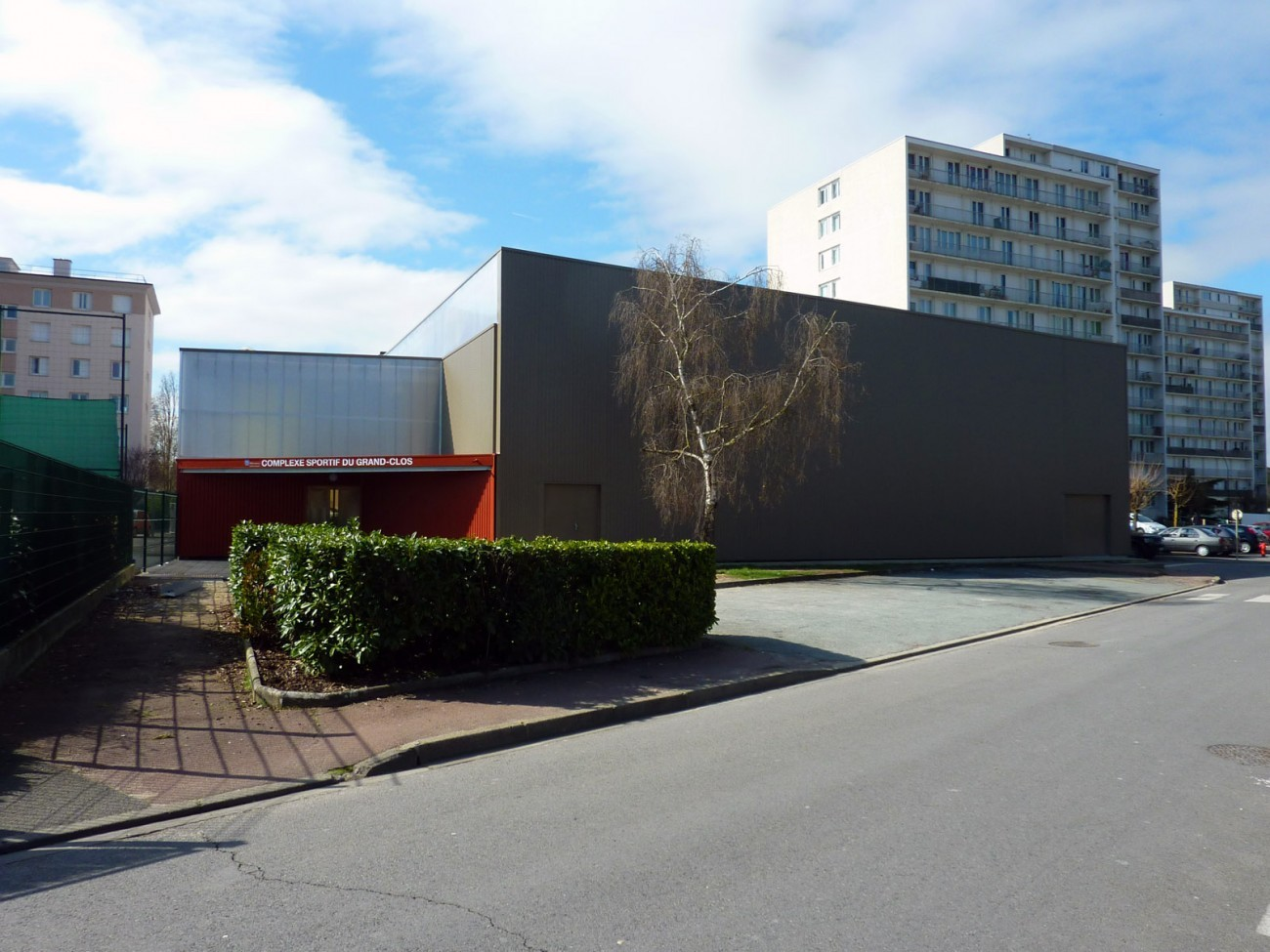Bourgueil rouleau architectes gymnase du grand clos for Architecte montargis